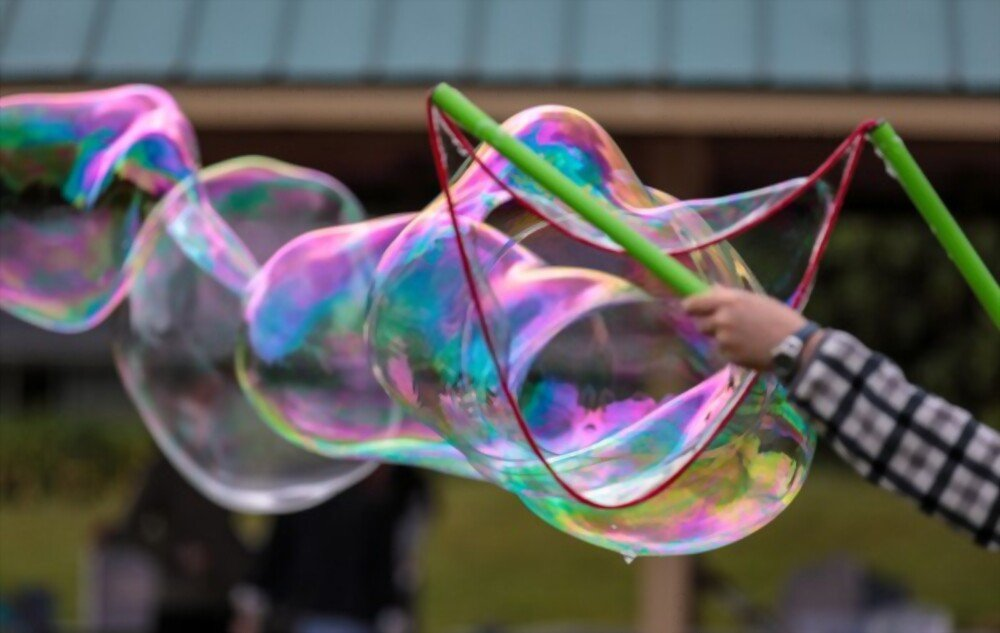 Tokyo English Kids Adventure - Bubbles in the Park